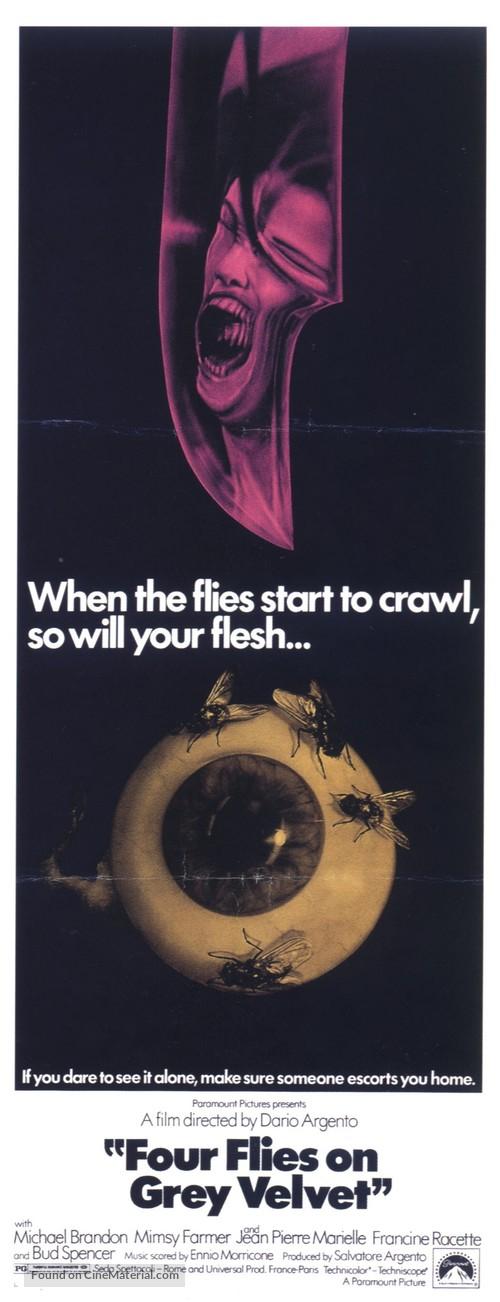 4 mosche di velluto grigio - Movie Poster