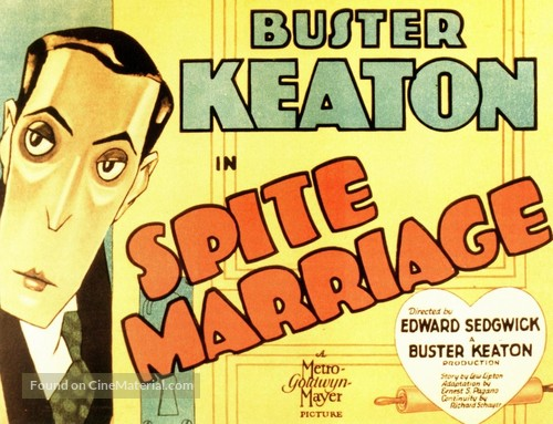 Spite Marriage - Movie Poster