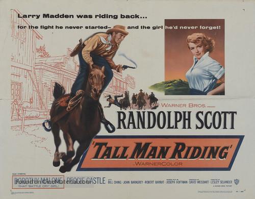 Tall Man Riding - Movie Poster