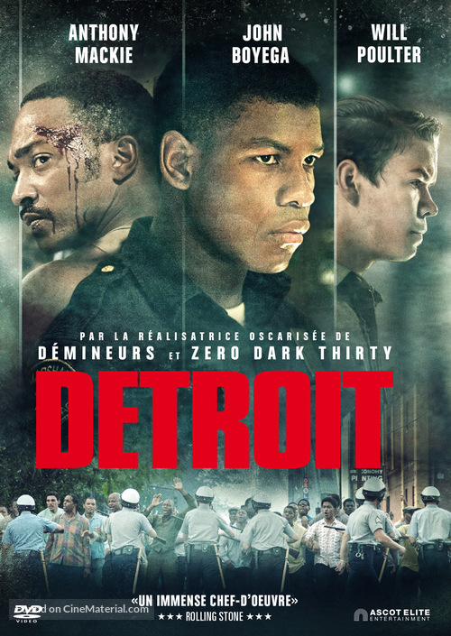 Detroit - Swiss Movie Cover