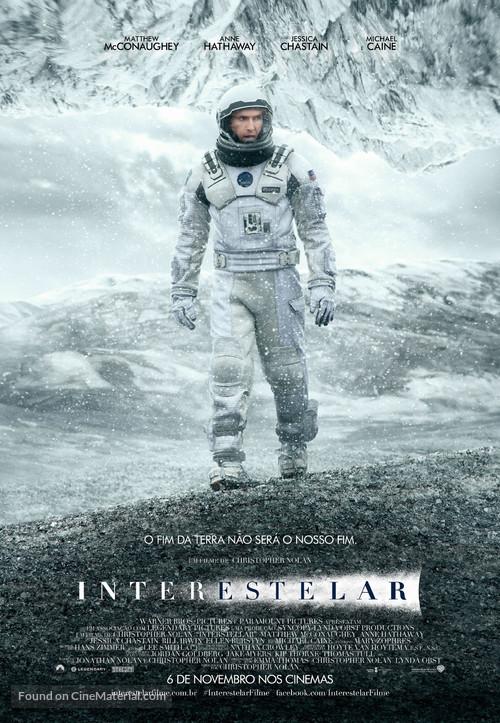 Interstellar - Brazilian Movie Poster
