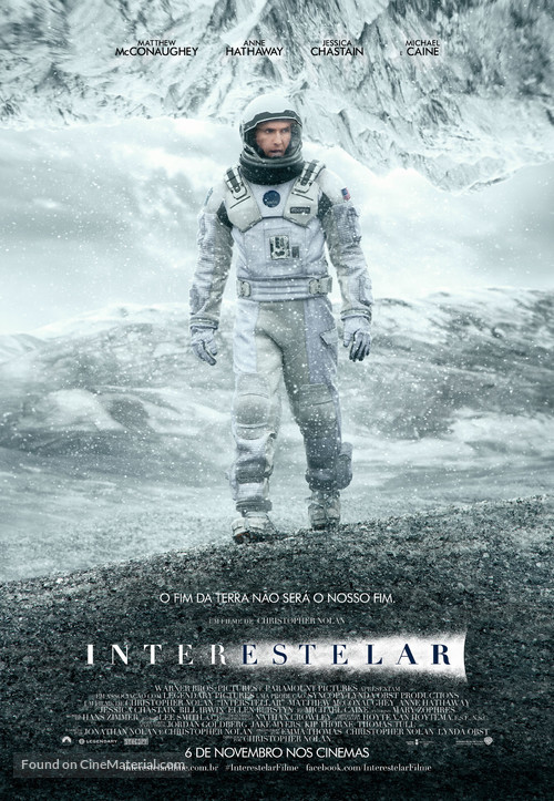 Interstellar - Brazilian Movie Poster