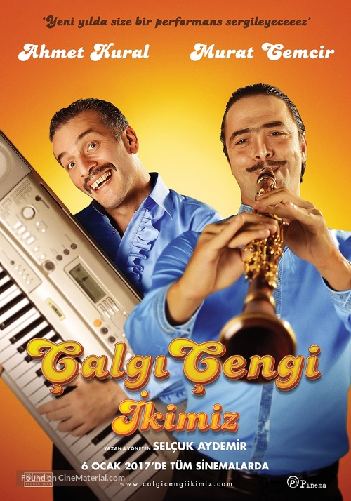 Çalgi Çengi Ikimiz - Turkish Movie Poster