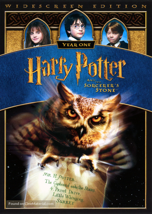 Harry Potter and the Sorcerer's Stone - Thai DVD movie cover