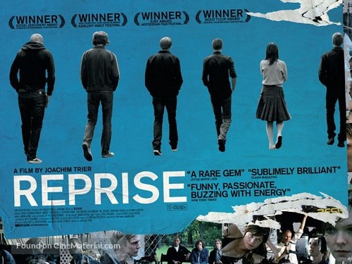 Reprise - British Movie Poster