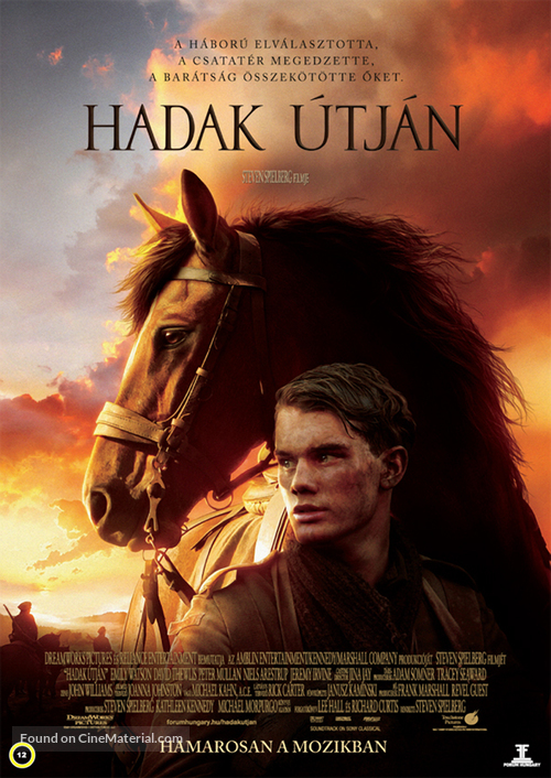 War Horse - Hungarian Movie Poster