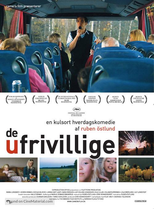 De ofrivilliga - Danish Movie Poster