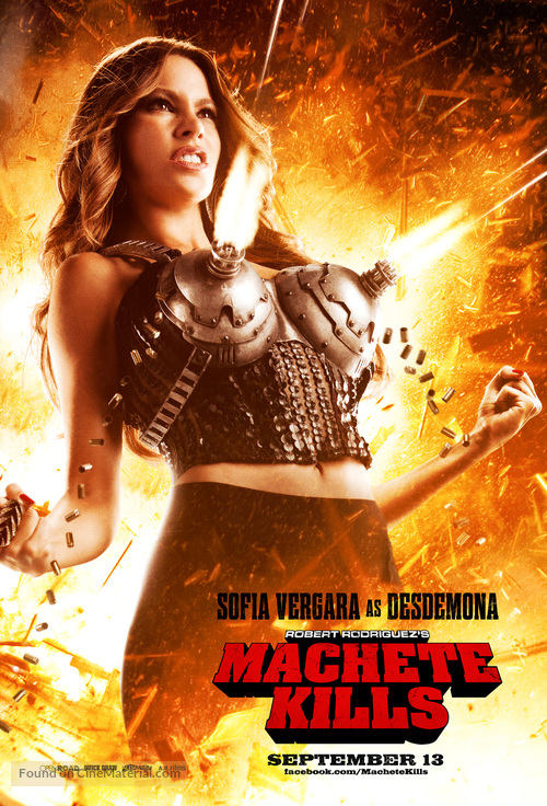 Machete Kills - Movie Poster