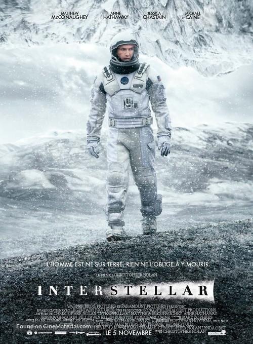 Interstellar - French Movie Poster