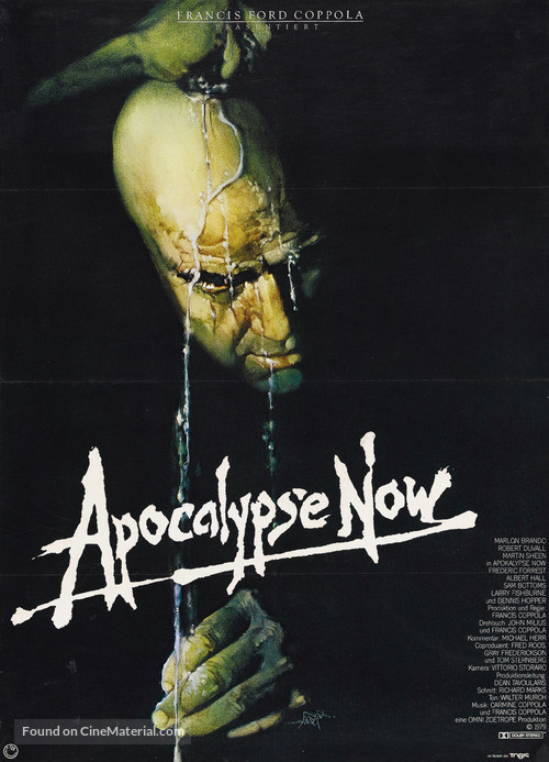 Apocalypse Now - German Movie Poster