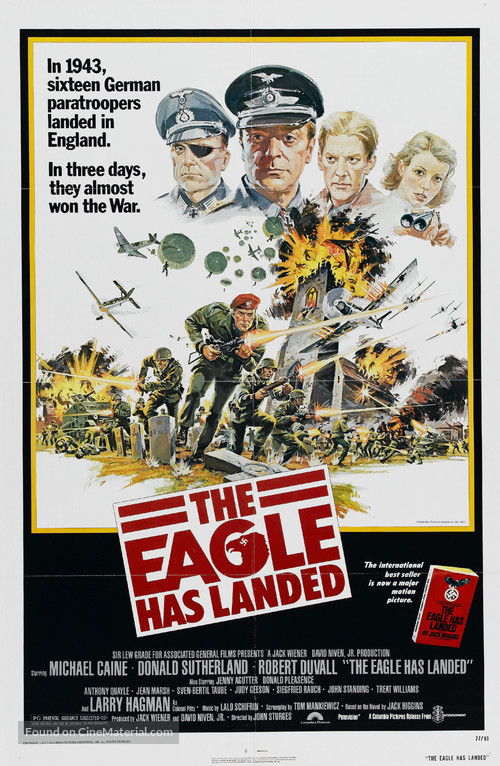 The Eagle Has Landed - Movie Poster