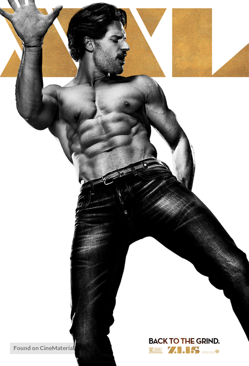 Magic Mike XXL - Character movie poster