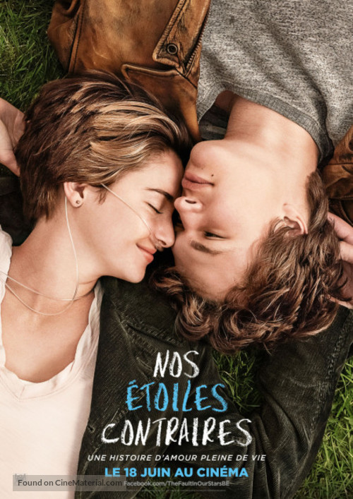 The Fault in Our Stars - Belgian Movie Poster
