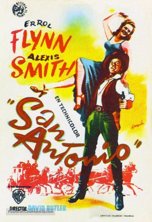 San Antonio - Spanish Movie Poster