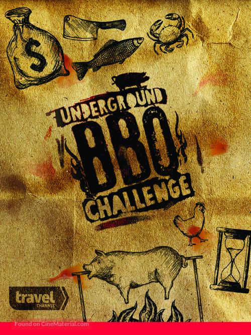 """""""Underground BBQ Challenge"""" - Movie Poster"""
