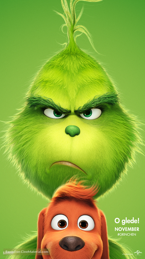 The Grinch - Norwegian Movie Poster