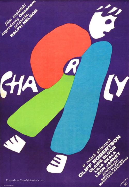 Charly - Polish Movie Poster