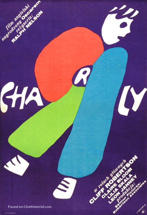 Charly - Polish Movie Poster