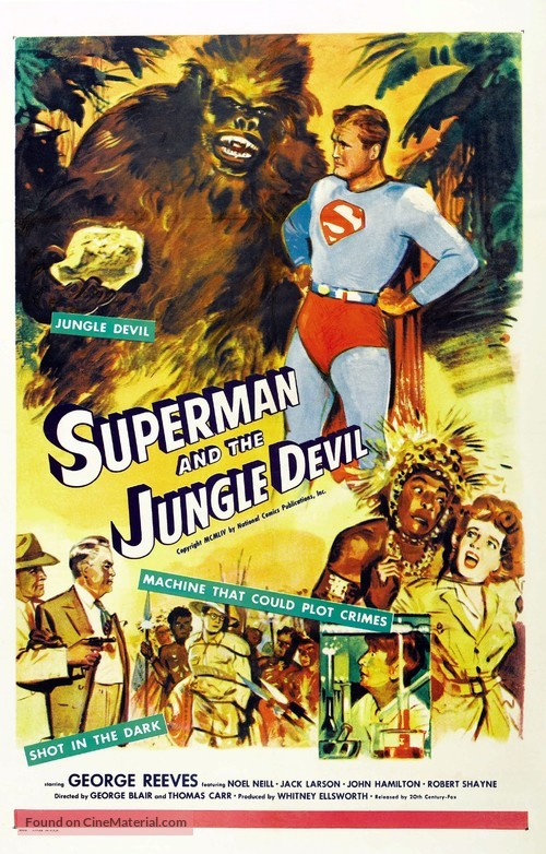Superman and the Jungle Devil - Movie Poster