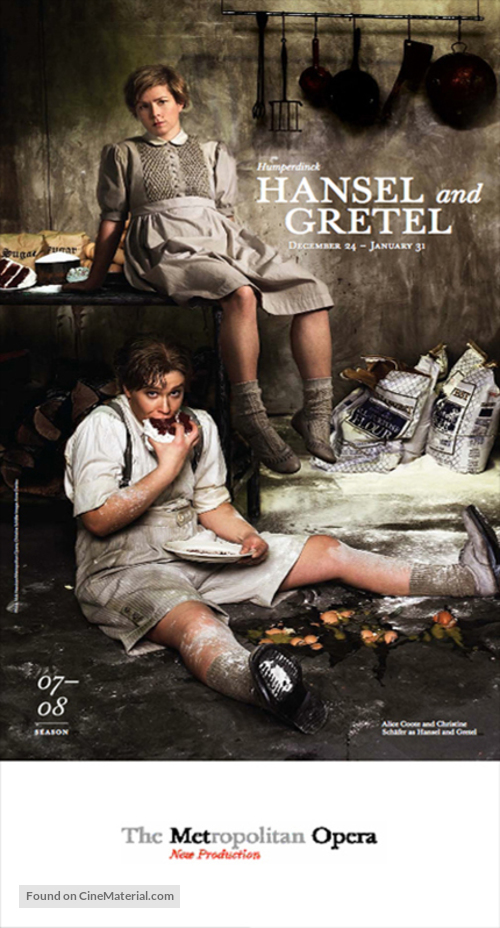"""Metropolitan Opera: Live in HD"" - Movie Poster"