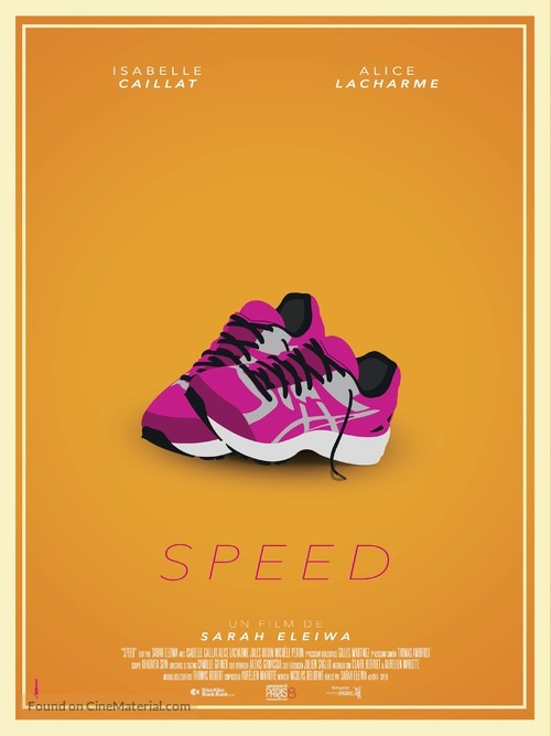 Speed - French Movie Poster