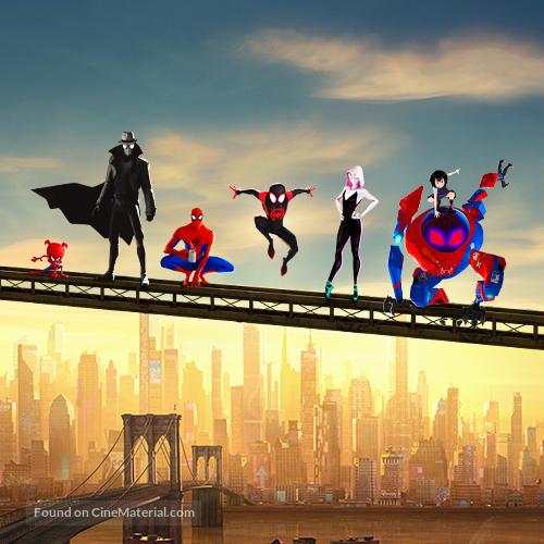 Spider-Man: Into the Spider-Verse - Key art