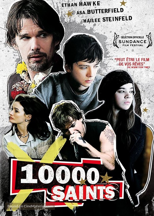 Ten Thousand Saints - French DVD movie cover