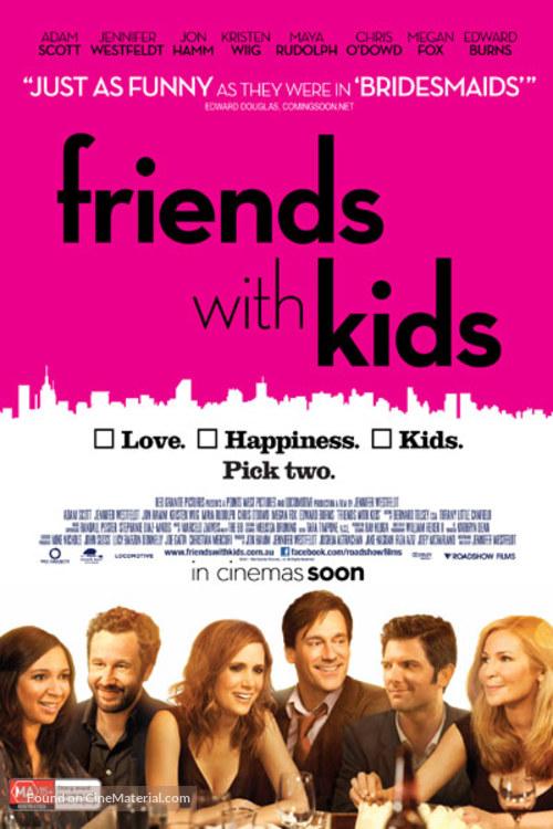 Friends With Kids Australian Movie Poster