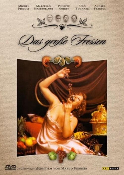 La grande bouffe - German DVD movie cover