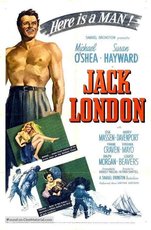 Jack London - Movie Poster