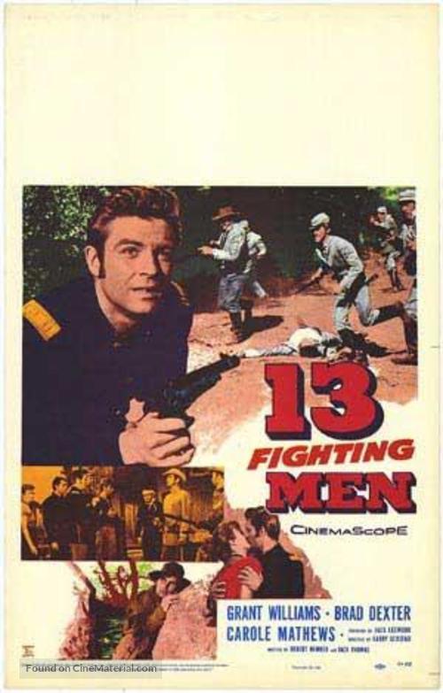13 Fighting Men - Movie Poster
