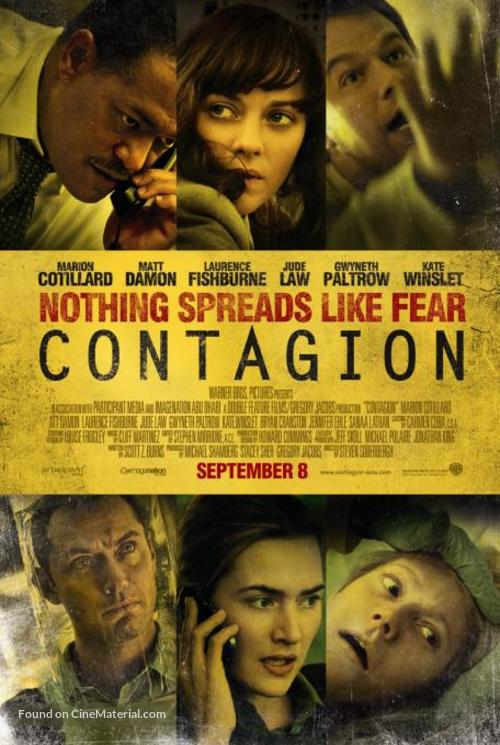 Contagion - Singaporean Movie Poster