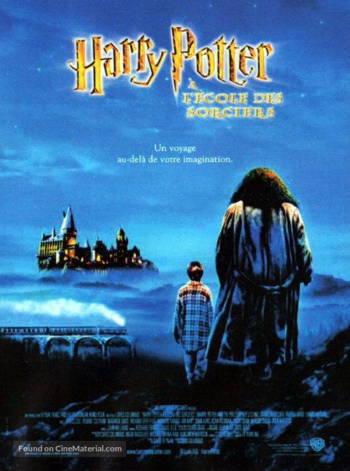 Harry Potter and the Sorcerer's Stone - French Movie Poster