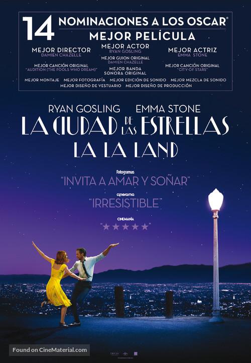 La La Land - Spanish Movie Poster
