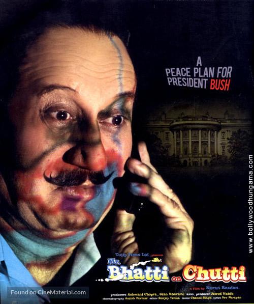 Mr Bhatti on Chutti - Indian Movie Poster