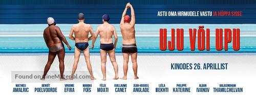 Le grand bain - Estonian Movie Poster