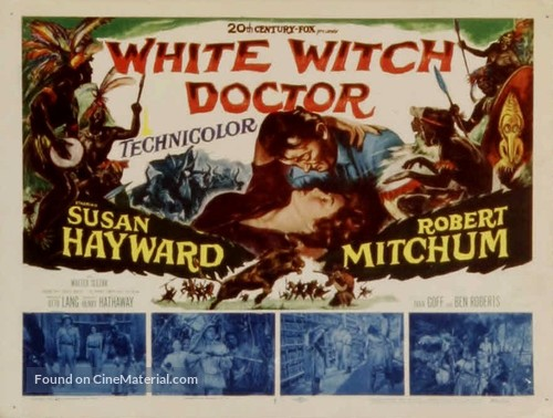 White Witch Doctor (1953) movie poster