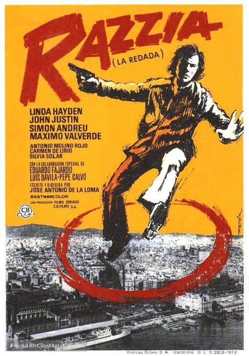 La redada - Spanish Movie Poster