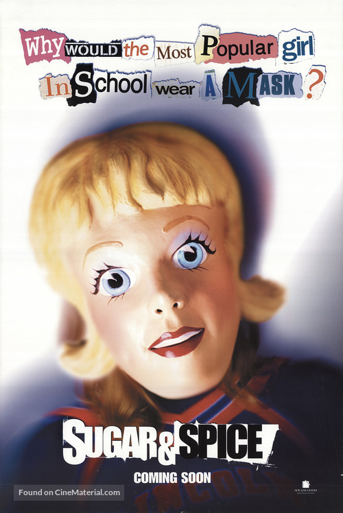 Sugar & Spice - Movie Poster