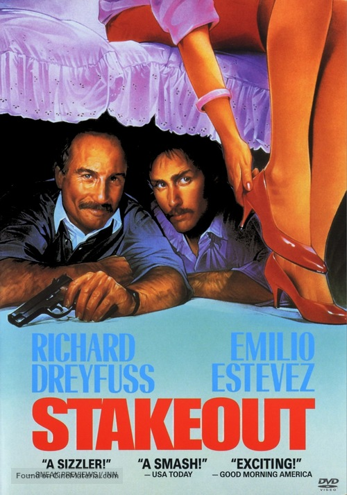 Stakeout - DVD movie cover
