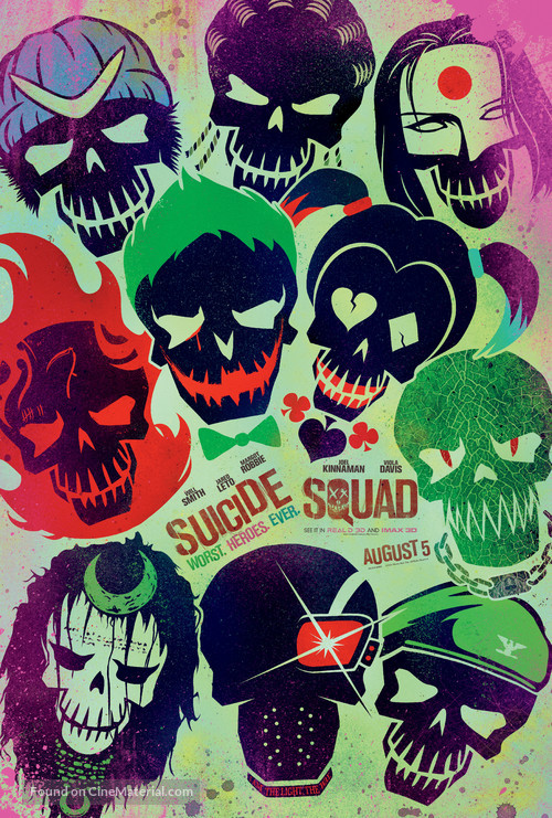 Suicide Squad - Movie Poster