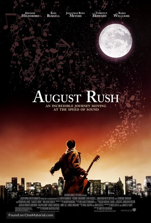August Rush - Theatrical poster