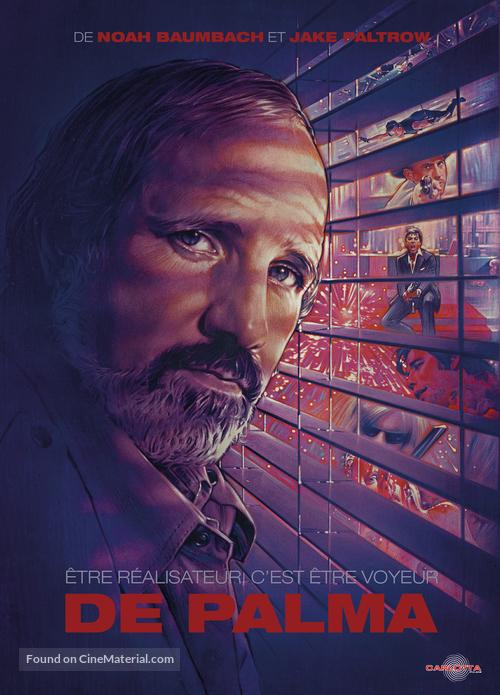 De Palma - French DVD movie cover