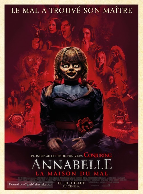 Annabelle Comes Home - French Movie Poster
