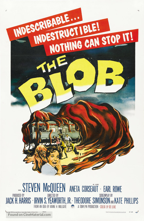 The Blob - Movie Poster
