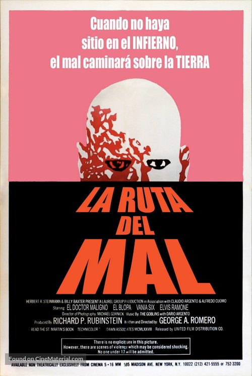 Dawn of the Dead - Spanish Movie Poster