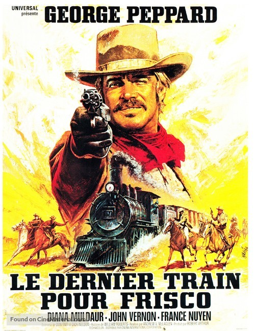 One More Train to Rob - French Movie Poster