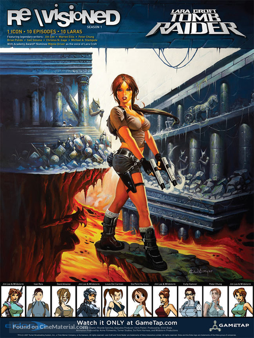 """""""Revisioned: Tomb Raider"""" - Movie Poster"""
