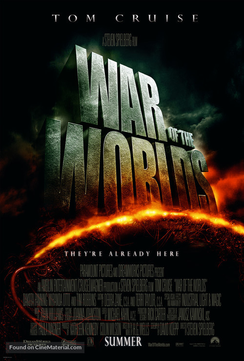 War of the Worlds - Theatrical poster