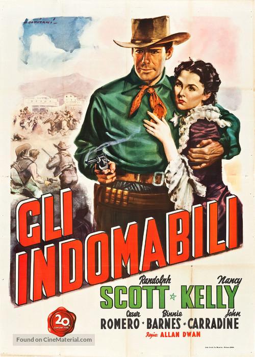 Frontier Marshal - Italian Movie Poster